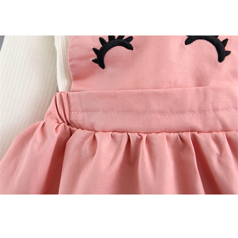 5354d50dc 2019 1 Year Baby Girl Dress Princess Autumn Solid Dress Wedding Kids ...