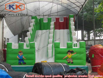 Cheap Slide Game Jumping Slide Inflatable Jump Slide