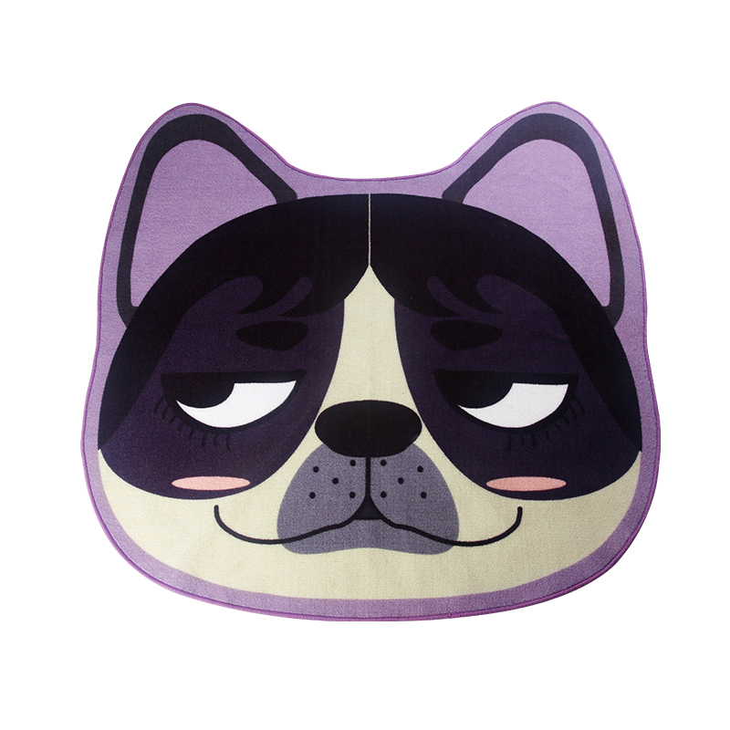 PAYSOTA Japanese Style Cute Dog Cartoon Carpet Living Room Bedroom Sofa Coffee Table Big ...