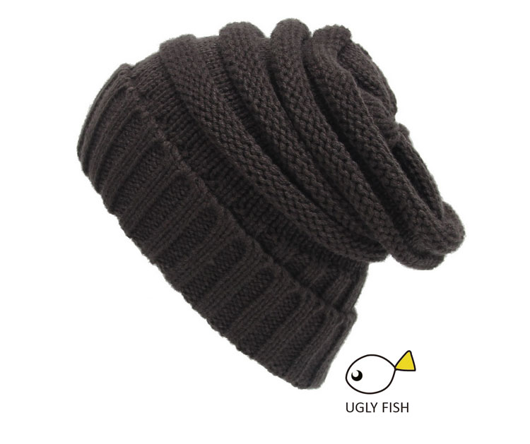 5379106800b ... Trendy Warm Chunky Soft Stretch Cable Knit Slouchy Beanie Skully HAT  (13) ...