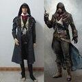 Детские Мальчики дети Хэллоуин Костюм Аниме Кредо убийцы Косплей Костюм Assassins Creed Арно Костюм одежда наборы