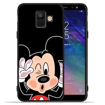 cartoon stitch For Samsung Galaxy A9 A8 A7 A6 A5 A3 J3 J4 J5 J6 J8 Plus 2017 2018 phone Case Cover Coque Etui silicone soft 1
