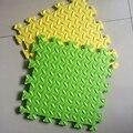 9 шт./лот оставляет поверхность пены EVA ребенка ползать коврик для гостиной рун 1.2 см утолщение сращивание мягкая размер 30*30 см