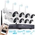 Zosi 960 p auto-par sistema 8ch 960 p nvr wifi inalámbrico con 8*1.3 p 960 p $ number pies de visión nocturna a prueba de agua ip66 cámara de la bala