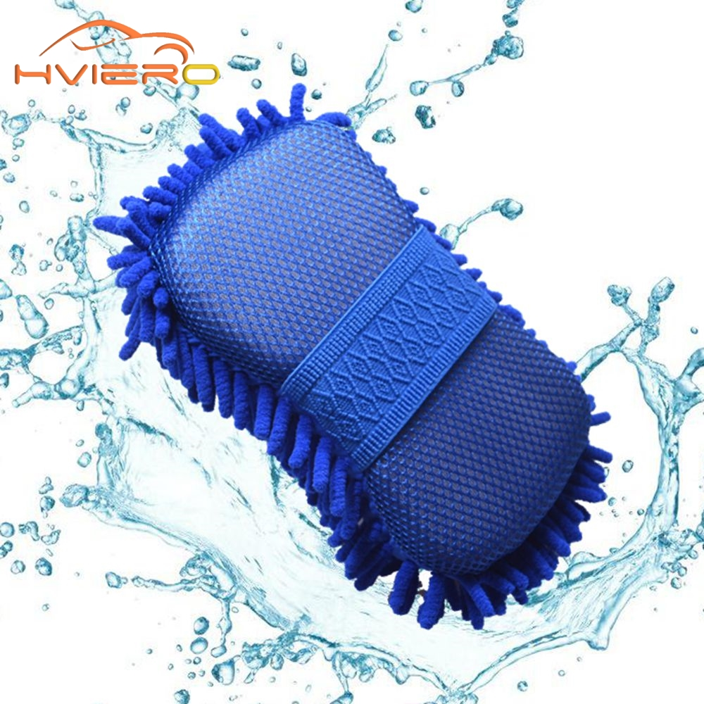 Wholesale New Real Microfiber Car Washer Cleaning Care Detailing Brushes Washing Towel Auto Gloves Styling Supplies Accessories