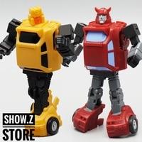 [Show.Z Store] Mech Planet Hot Soldiers HS 15 Cliffjumper & HS 16 Hubcup Set of 2 Transformation Action Figure