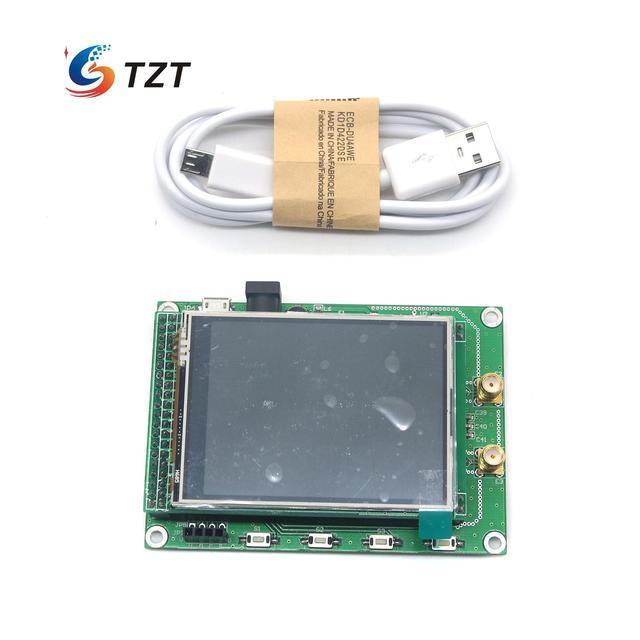 ADF4351 РФ Развертки Источник Сигнала Генератор Доска 35 М до 4.4 Г + STM32 TFT Сенсорный ЖК-