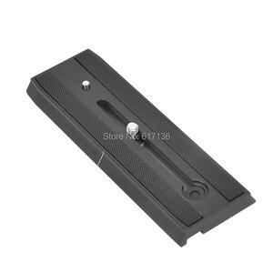 Image 3 - Benro QR13 plaque de fixation rapide aluminium professionnel QR13 plaque pour Benro S8 BV4 BV6 BV8 BV10 tête vidéo livraison gratuite
