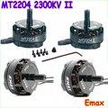 4 компл. Emax MT2204 II Охлаждения Безщеточный 2300KV Двигателя 2-4 S для Мини QAV250 Мультикоптер QAV250 TL250H TL280CWholesale