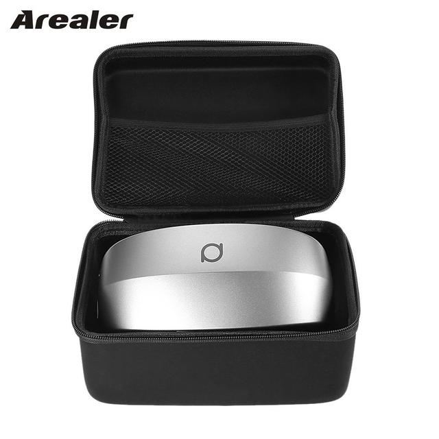 Arealer Storage Case for Samsung Gear VR Headset Portable Case Handbag for All-in-one VR Headset Virtual Reality 3D Glasses