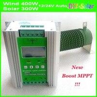MPPT солнечный гибридный контроллер заряда boost зарядка 800 Вт 600 Вт 400 Вт Генератор ветровой турбины и 300 Вт 400 Вт контроллер солнечной панели