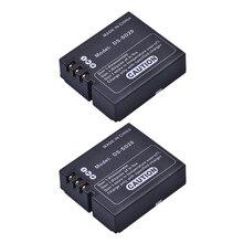 2 шт. DS-SD20 SD20 DS SD20 батареи для AEE MagiCAM SD18 SD19 SD20 SD21 SD22 SD23 SD30 Rollei 3 S Спорт действий камеры