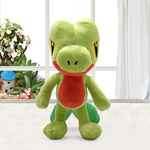 Japan Anime Plush Toys 19cm Treecko Soft Stuffed Animal Doll Toy Collection Kids Gift Baby Dolls Brinquedos