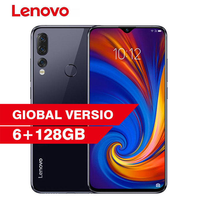 Lenovo Z5s L78071 Face ID Notch Screen 6.3'' Android P Smartphone 6GB 128GB Snapdragon 710 Octa Core Fingerprint Mobile Phone