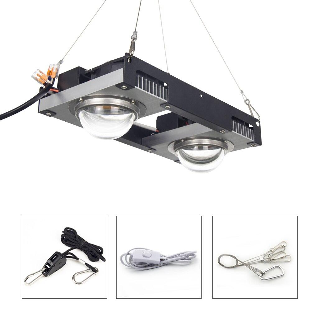 CREE CXB3590 COB LED grandir lumière bricolage Module 100 W 200 W lampe de croissance plante d'intérieur support idéal MEANWELL pilote spectre complet