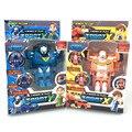 2016 nova transformação crianças clássico robô Tobot irmãos Anime Tobot Quartran de deformação crianças brinquedos carro Juguetes figuras de ação