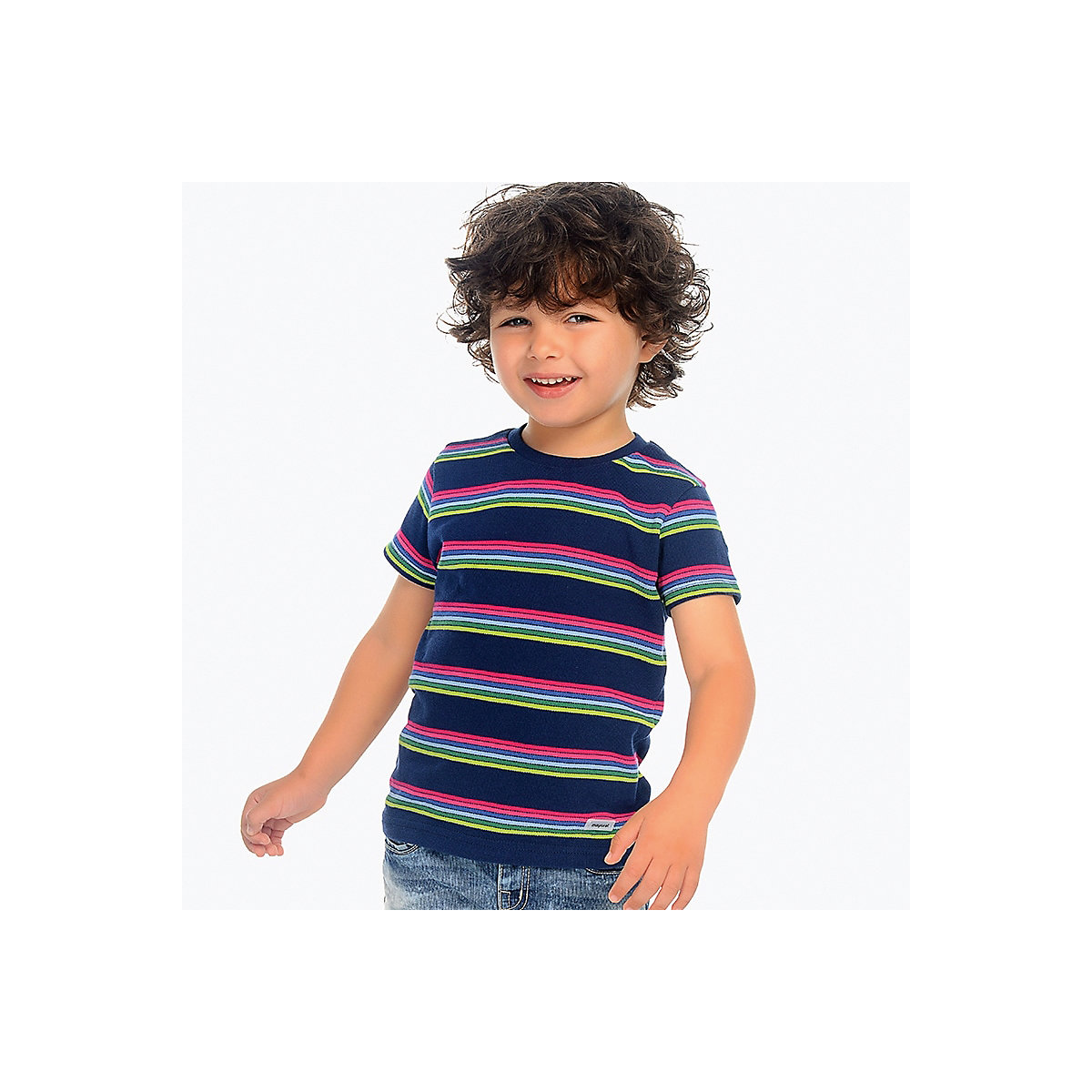 T-Shirts MAYORAL 10681941 Children sClothing T-shirt with short sleeves polo shirt for boys and girls цена