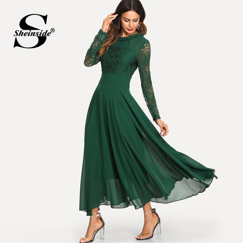 bacd304866dc8 Sheinside Burgundy Backless Wrap Party Dress Women 2019 Spring V ...