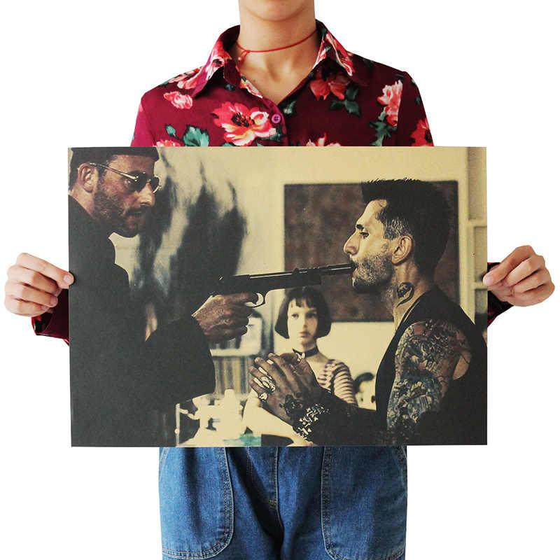 OLOEY 51.5x36 سنتيمتر 6 أنواع الكلاسيكية الفيلم ليون والمهنية خمر ملصق ملصق الرجعية ملصق جدار Decoracion باريد المنزل ديكور