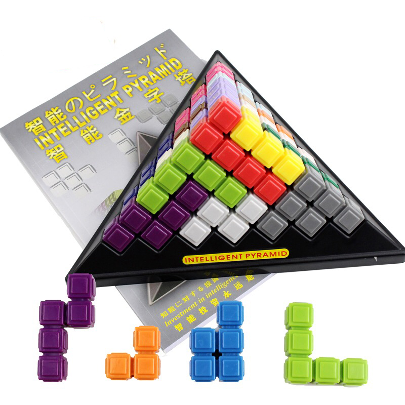 Funny Bricks Blocks Anti-stress Tricks Fun Toys Intelligent Pyramid Educational Toys Family Party Game hot pie cake to face gags practical jokes fun funny gadgets family game prank finger funny stress toys for kids gift