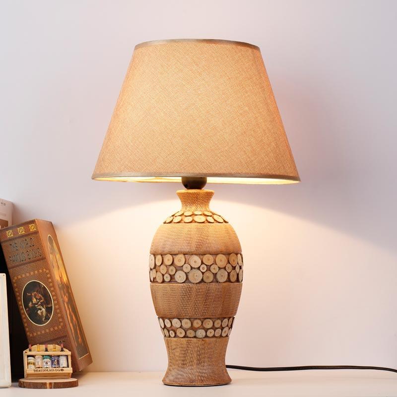 Modern ceramic table lamp bedside porcelain lamp living room bedroom home lighting blt6018 in for Contemporary table lamps living room