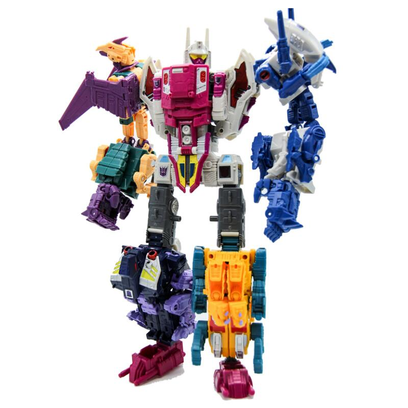 5Pcs set Terrorcons Abominus Hun Gurrr Sinnertwin Cutthroad Blot Power of the Primes Classic Toys For