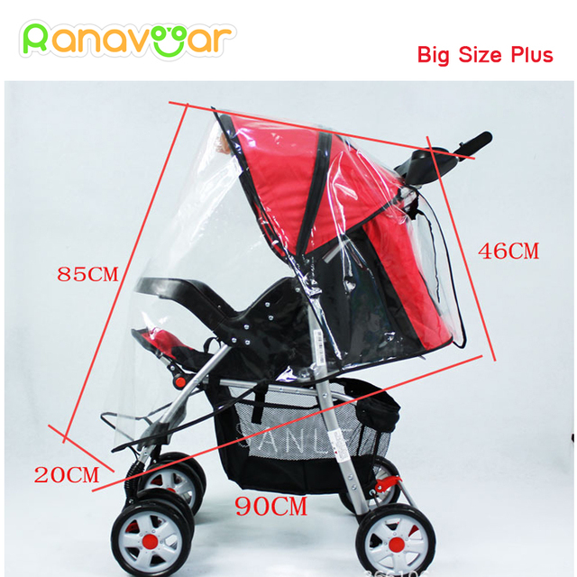 Ranavoar Baby Stroller Rain Cover