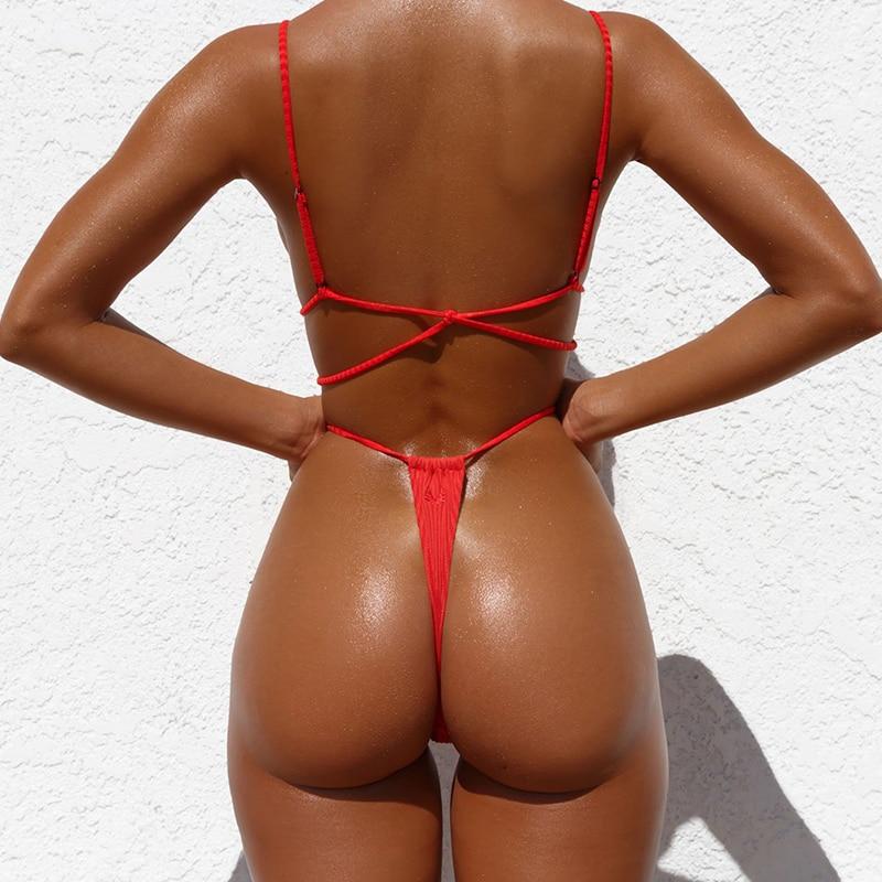 HTB1Rn5OaHj1gK0jSZFuq6ArHpXa9 Bikinx Neon bikini thong biquini High cut swimwear women Sexy push up brazilian swimsuit female bathing suit Micro bikini 2019