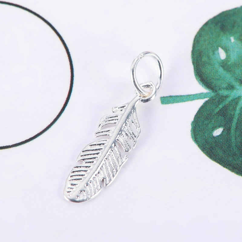 UM par de prata esterlina 925 encantos Pingente de prata animal pendant para Colar pulseira fazer jóias das mulheres de prata 24 estilos