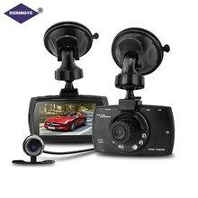 """DOXINGYE 2.7 """"Full HD 1080 P Dell'automobile DVR Auto Video Dual Camera guida registratore di Visione notturna G-senso 140 Wide Angle Box Dash fotocamera"""