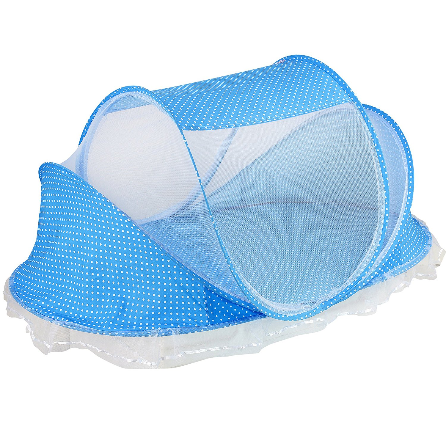 Portable Baby Crib Mosquito Net Tent Multi-Function Cradle Bed Infant Foldable Mosquito Netting With Pad For Girls Bed