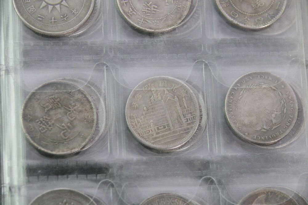 Stock de monedas de china incluye coleccionables de 120 piezas de artesanía de metal de moneda china antigua - 6