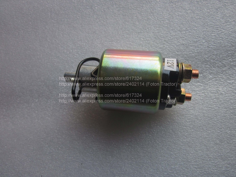 178F 186F 188F 192F engine parts, the solenoid switch 12V for starter motor