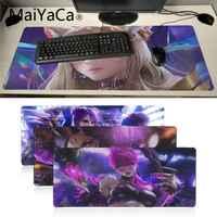 Maiyaca League of Legends virtuale della ragazza banda K DA KaiSa2 anime mouse pad gamer gaming mouse pad Velocità Versione Per CS Dota2 LOL