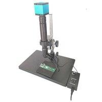 ITO 1000X инспекции Увеличить Монокуляр c креплением коаксиальный свет + 16MP HDMI USB цифровой печатной платы SMD промышленных микроскоп камера