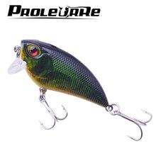 1Pcs wobbler crankbait 6cm 6.7g Fishing lures plastic hard artificial lure Perch fish pesca hooks tackle japan 8 colors YR-277