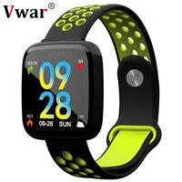 F15 Heart Rate Smart band IP67 waterproof Blood pressure oxygen monitor Fitness Bracelet Double color strap smartwatch fit bit