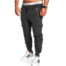 2019  Sweatpants MenS Gasp Workout Bodybuilding Clothing Casual Camouflage Multi-Pocke Joggers Pants 3XL