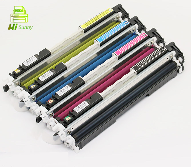 1Set CE310A for HP Color Laserjet CP1025nw CP 1025 Pro CP1025 100 Color MFP M175NW M175 M175A NW M275 126A Toner Cartridge 4pk ce310a ce311a ce312a ce313a compatible color toner cartridge 126a for hp laserjet cp1025 cp1025nw m275mfp m175a m175nw