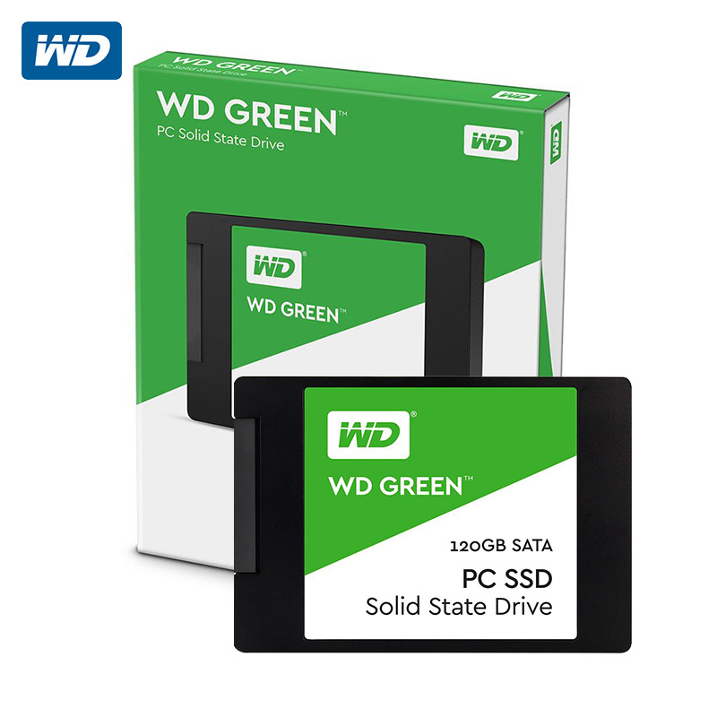 WD Green PC SSD 120GB 240GB Internal Solid State Hard Drive Disk SATA 3.0 6Gb/s 2.5 540MB/S 120G 240G Laptop Desktop kingston digital hyperx savage sata solid state drive 2 5 inch shss37a 120g