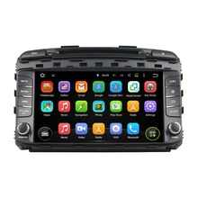 8 Inch Quad Core HD1024*600 Android 5.1 Car Multimedia Player For KIA For SORENTO 2015 Car DVD Player Free 8GB MAP Card Stereo