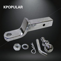 10 ton car universal trailer hook for traction SUV hitchhiking yacht hook attachment for beach bike traction Bracket towing
