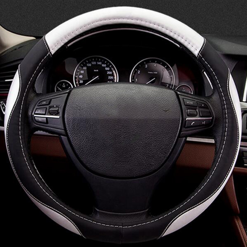 Car steering wheel cover for Maserati Levante Renault Koleos Kadjar Tesla model 3 model S X chrysler 300c
