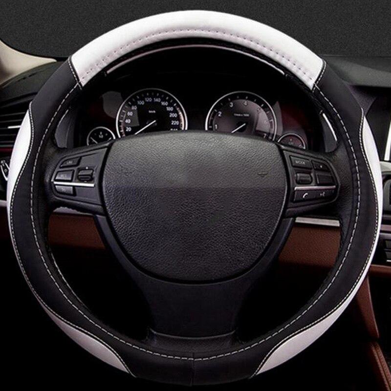 Couverture de volant de voiture pour Maserati Levante Renault Koleos Kadjar Tesla modèle 3 modèle S X chrysler 300c