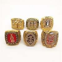 Factory Price 6pcs 1992 1993 1996 1999 2013 2014 Florida State World Series Championship Ring With