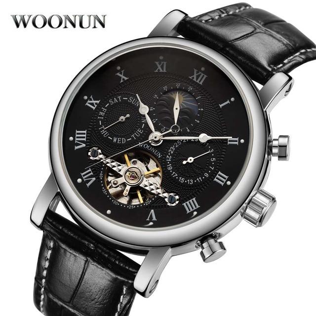 48deec3f048 Novos Relógios Homens Turbilhão Relógio Mecânico Automático dos homens  Fashion Business Casual Relógio Masculino Relógio Relojes