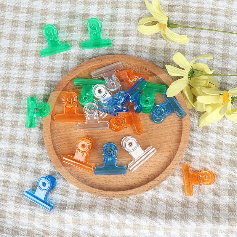 5 Pcs/Tas Jari Ekstensi Cepat Bangunan Cetakan Tips Kuku Dual Bentuk Kuku Tips Klip Orange, Biru, Putih hijau Alat Nail Art