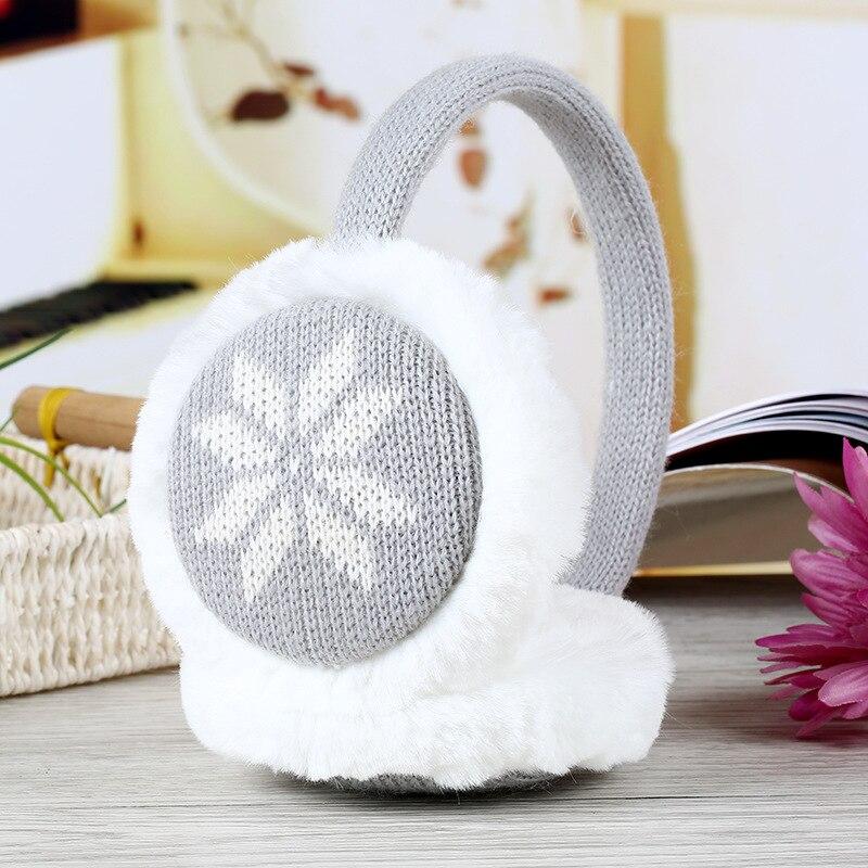 Cute Plush fluffy Headband Ear muffs girls women