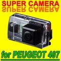 Для Philips Peugeot 407 вид сзади Автомобиля обратный парковочная Камера резервного копирования Комплект для Навигации GPS