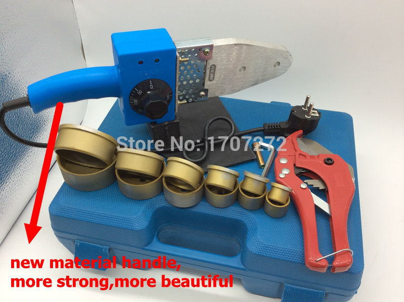 Free Shipping  Temperature controled PPR welding Machine plastic welding machine plastic welder  AC 220V 800W 20-63mm